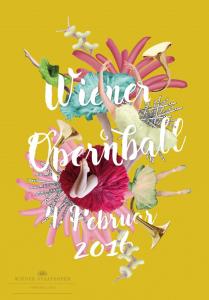 Plakat 60. Wiener Opernball 2016 © Wiener Staatsoper